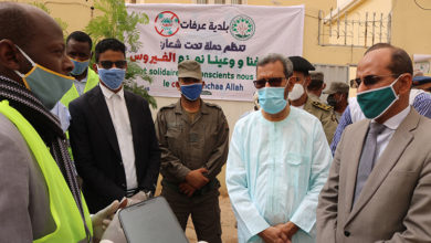 صورة حملة جديدة ضد انتشار وباء كولاونا