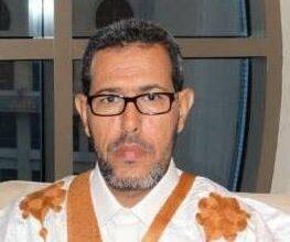 صورة العمدة يعزي في الإمام سيدي محمد ولد المجتبى