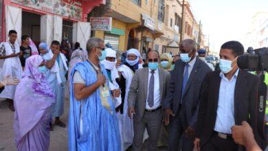 صورة بلدية عرفات تستأنف جهودها للوقاية من كوفيد 19