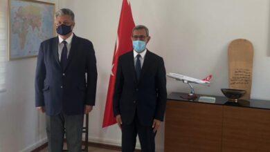 صورة عمدة عرفات يلتقي بالسفير التركي المعتمد في موريتانيا